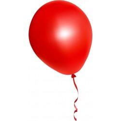 Ballon helium gevuld