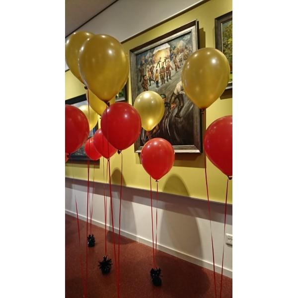 Trosje helium ballonnen