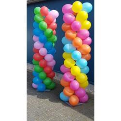Ballonnen boog - pilaar